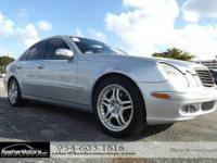 Options:  2005 Mercedes-Benz E-Class E500 4Dr