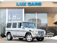 VERY CLEAN 2005 MERCEDES G500! NAVIGATION! HEATED
