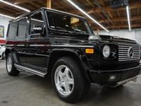 This 2005 Mercedes-Benz G-Class 4dr features a 5.4L 8