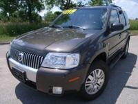 Options Included: N/AThis 2005 Mercury Mariner is a