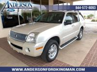 This Mercury Mountaineer has a dependable Gas V6
