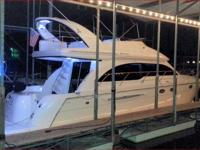 This Meridian Yacht 411 Sedan has luxury, appeal,