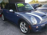 REAL CLEAN S MODEL MINI COOPER CONVERTIBLE. 1500