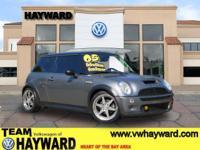 Options:  2005 Mini Cooper S Hatchback Gray 4-Cyl