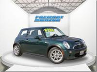 Options:  2005 Mini Cooper S|Green|4-Cyl.