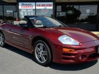 2005 Mitsubishi Eclipse Convertible Spyder GTS! WE