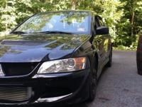 5 Evo VIII. The car has 39k on the body and trans and
