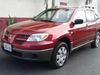 On sale now....This 2005 Mitsubishi outlander is one of