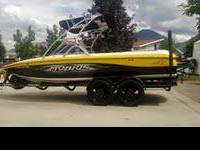 21' Official Towboat of the Gravity Games Garaged since