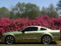This is a Highway driven 2005 Mustang Saleen S281. It