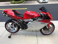 2005 MV AGUSTA F4 +1 GARAGE KEPT ALWAYS ON BATTERY