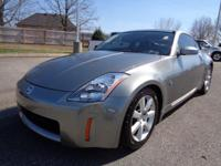 350Z trim. CD Player, Alloy Wheels. 5 Star Driver Side