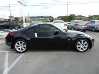2005 Nissan 350Z 2dr Coupe, 6c, Black/ Red-Brown