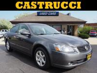 Recent Arrival!   Gray 2005 Nissan Altima 2.5 SL FWD