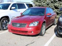 Options:  2005 Nissan Altima 2.5 S|Red/Charcoal|V4 2.5L