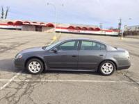 This is a really great charcoal grey 2005 Nissan Altima
