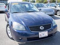 Altima 2.5 S. Lot Sale! Welcome to noise-free travel.