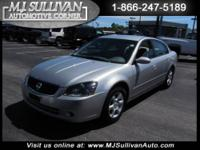 2005 Nissan Altima 4dr Car 2.5 S Our Location is: MJ