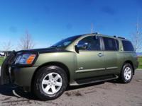 Options:  2005 Nissan Armada  Green 95 649 Miles Stock