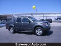 Options Included: Rear Wheel Drive, Front Tow Hooks,