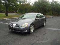 gray 2005 Nissan Maxima SL model with 3.5 V6 engine