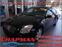 2005 Nissan Maxima 3.5 SL. Stability and traction
