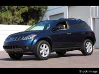 Options:  2005 Nissan Murano S|Awd S 4Dr Suv|3.5L|6