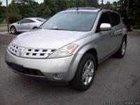 Year: 2005 Make: Nissan Model: Murano Trim: SE 2WD