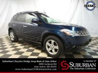 2005 Nissan Murano SL AWD with ** LEATHER ** SUNROOF **