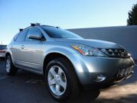 This 2005 Nissan Murano SL was just traded in, it is