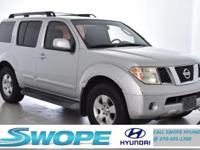 Recent Arrival! Clean CARFAX. This 2005 Nissan