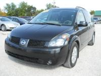 Options Included: N/A2005 Nissan Quest 3.5SL Black,