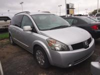 Body Style: Van Engine: 6 Cyl. Exterior Color: Silver