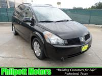 Options Included: N/A2005 Nissan Quest, black with gray