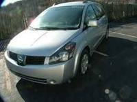 2005 Nissan Quest Minivan This vehicle has 138,000