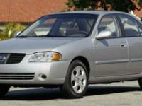 We're excited to offer this capable 2005 Nissan Sentra