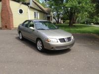 I have 2005 Nissan sentra very good running car