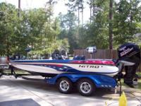 2005 Nitro 911 CDCA fantastically built bass boat that