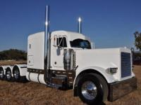 2005 Peterbilt 379 Commercial Truck; Color-White;