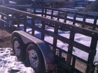 2005 TRAILER THAT WE NEED TO SELL!!! IT IS A 14 FEET BY