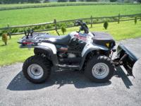 2005 Polaris 330 Magnum 4x4 Shaft ride system,