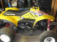 2005 Polaris Scrambler 500 Powersport. 3 Polaris ATVs