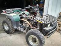 Right here is a Polaris Magnum 500 ATV energy quad.