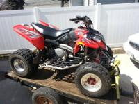 I have a 2005 Polaris Predator 500 for sale. It has