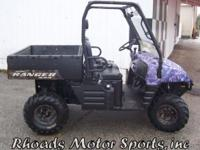 2005 Polaris Ranger XP 500 with 1023 HRS. This is a