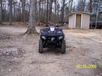 Description This is a 2005 Polaris Sportsman 700 EFI