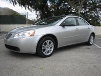 2005 PONTIAC G6 4DR SEDAN.......3.5 V6. ONLY 85K MILES