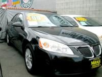Come check out this Pontiac G6 Today!! Equipped with