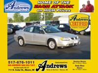 Andrews Automotive Certified Used 2005 Pontiac Grand AM