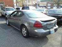 2005 GREY PONTIAC GRAND PRIX GREY CLOTH INTERIOR,